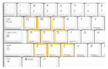 Keyboad Shortcuts