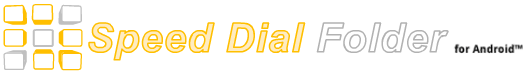 Speed Dial Folder Logo